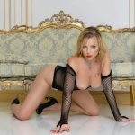 Istanbul VIP escort Ilona is truly wondrous in this look with exposed remarkable boobs